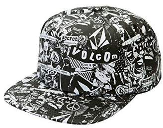 Volcom Junior's Georgia May Jagger All Over Print 5 Panel Hat