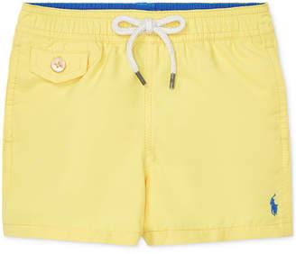 b5536359d5 Polo Ralph Lauren Baby Boys Traveler Swim Trunks