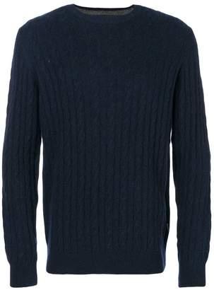Barbour cable knit jumper