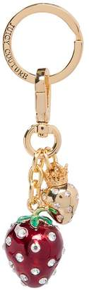 Juicy Couture Strawberry Key Fob