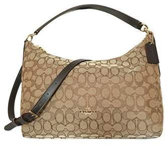 Coach Outline Signature East/West Celeste Convertible Hobo F58284