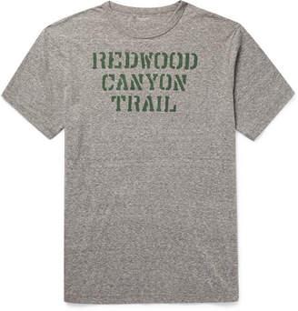 J.Crew Printed Melange Jersey T-Shirt - Gray
