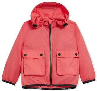 Burberry Showerproof Hooded Jacket