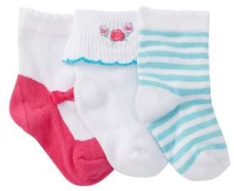 Kate Spade Footie Socks - Pack Of 3