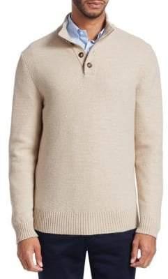 Loro Piana Mezzocollo Knit Cashmere Sweater