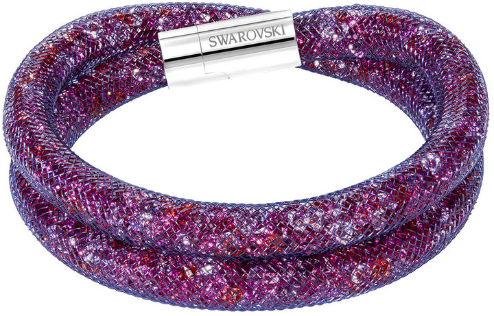 Stardust Purple Double Bracelet