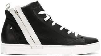 Crime London Magma hi-top sneakers