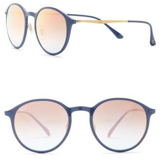 Ray-Ban 49mm Round LightRay Sunglasses