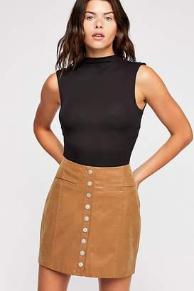 Snap To It Vegan Skirt
