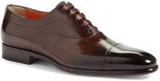 Santoni 'Elon' Cap Toe Oxford