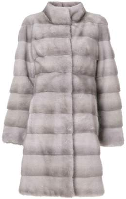 Liska fur mid-length coat