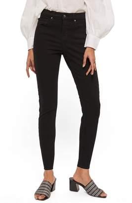 Topshop Jamie Petite Black Jeans