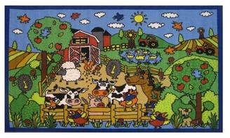 Fun Rugs Fun Time Happy Farm Area Rug