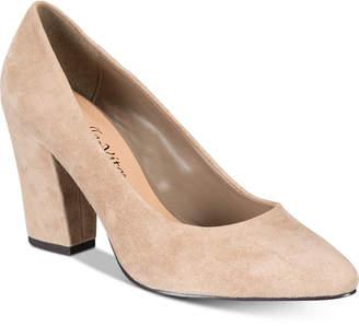 Bella Vita Gigi Block-Heel Pumps Women's Shoes