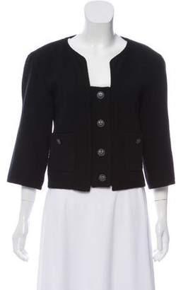Chanel Wool Bouclé Cropped Jacket