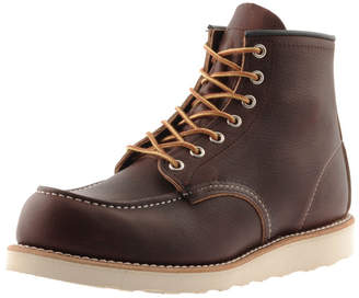 Red Wing Shoes Classic 6 Inch Moc Boots Brown