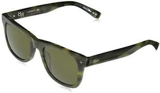 Lacoste Unisex L878s Plastic 85° Anniversary L.12.12 Rectangular Sunglasses