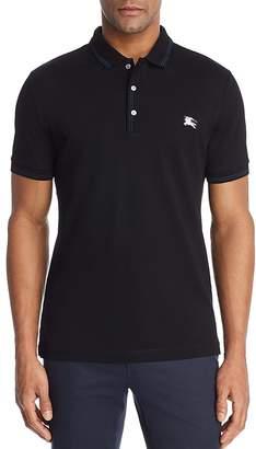 Burberry Kenforth Mercerized Piqué Polo Shirt