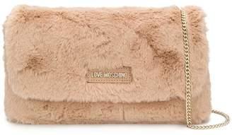 Love Moschino faux fur crossbody
