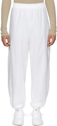 GmbH White Seher Jogging Lounge Pants