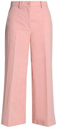 Moschino Cropped Cotton-Blend Culottes