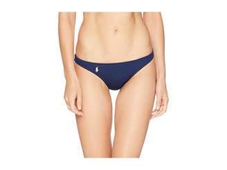 Polo Ralph Lauren Modern Solid Taylor Hipster Bottoms Women's Swimwear