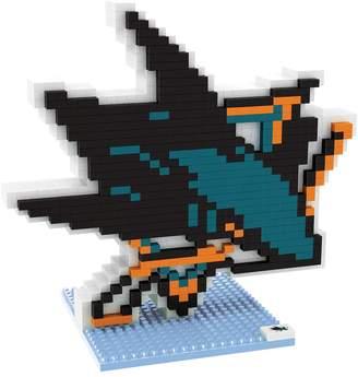 Forever Collectibles San Jose Sharks BRXLZ 3D Logo Puzzle Set