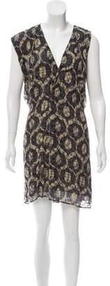 Isabel Marant Silk-Blend Oversize Dress