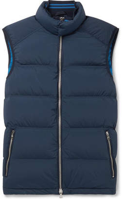 Orlebar Brown Aidey Quilted Stretch-Nylon Down Gilet