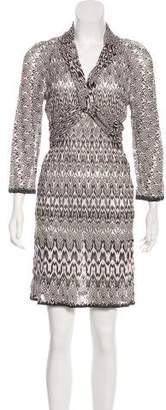 Missoni Knit Knee-Length Dress