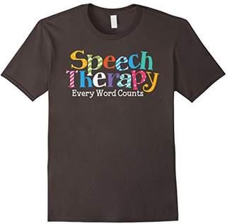 Speech Therapy Speech Language Pathologist SLP T-Shirt