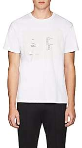 Raf Simons Men's Play-Print Cotton Jersey T-Shirt - White