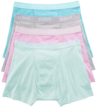 Alfani Men's 4-Pk. Cotton Boxer Briefs, Created for Macy's