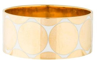 Kate Spade New York The Midas Touch Idiom Bangle $65 thestylecure.com