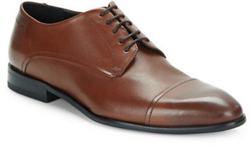 Hugo Boss Hugo Boss Captoe Leather Derbies