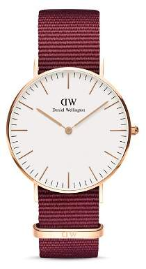 Daniel Wellington Classic Roselyn NATO Watch, 36mm