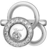 Chopard Happy Dreams Diamond& 18K White Gold Ring