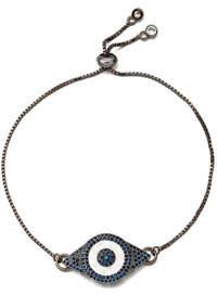 Eye Candy La Mia Evil Eye Cubic Zirconia Bracelet