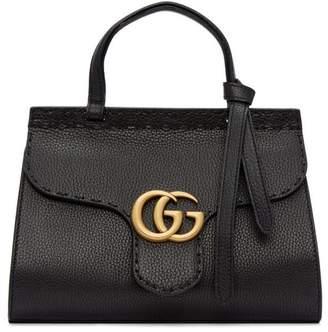 Gucci Marmont Top Handle GG Mini Black