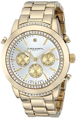 Vernier Paris Women's VNRP11161YG Analog Display Swiss Quartz Gold Watch