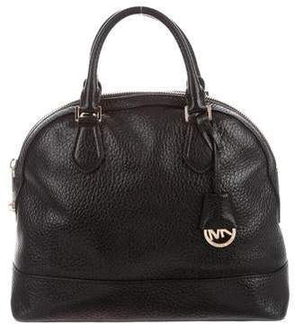 MICHAEL Michael Kors Leather Dome Satchel