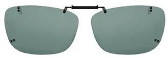 SOLAR SHIELD Solar Shield Unisex Rimless Polarized Solarshield Clipon Sunglasses Sc08