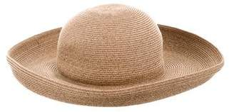 Eric Javits Straw Wide-Brim Hat