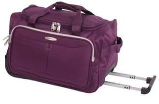 Pierre Cardin Zylo Wheeled Cabin Case - Purple & Light Grey