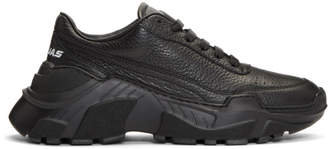 Joshua Sanders Black Chunky Sole Sneakers