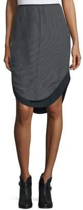 Rag & Bone Madison Pinstripe Skirt