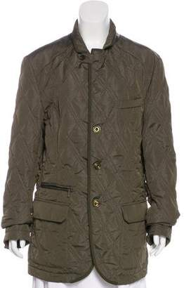 Etro Quilted Short Coat