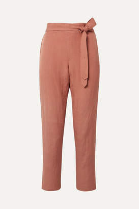 Hatch Venice Linen-blend Pants