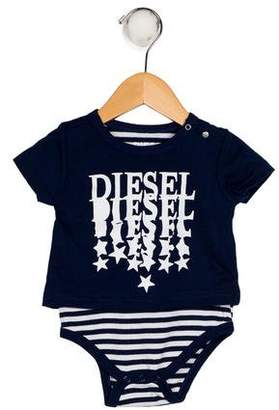 Diesel Boys' Printed All-In-One