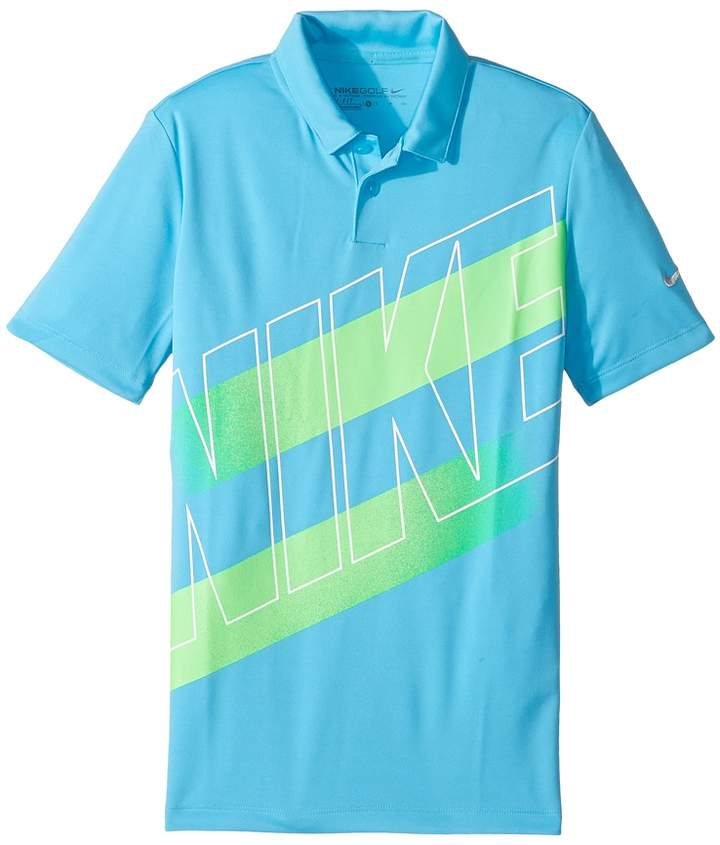 Nike Kids - Victory Graphic Polo Boy's Short Sleeve Pullover